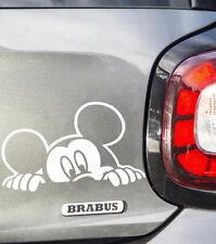 Mickey Mouse mirar GRACIOSO PARACHOQUES, coche, ventana, iPad o portátil Pegatina