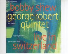 CD BOBBY SHEW / GEORGE ROBERT QUINTET	live in Switzerland	NEAR MINT (B2237)