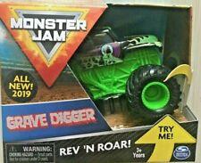 2019 Spin Master Monster Jam Truck Rev N Roar Grave Digger 1:43 NEW 3+