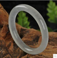 Hot 100% Pure natural Chinese icy jade hand-carved bracelet,beautiful bangle