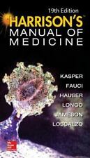 Harrisons Manual of Medicine, 19th Edition by Fauci Kasper, Anthony Fauci,...