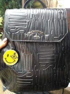VIVIENNE WESTWOOD BLACK BACKPACK RUCKSACK  BAG NWOT RRP £280