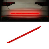 Car Auto Reflective Warn Strips Tape Bumper Truck Safety Sticker Decal Paster