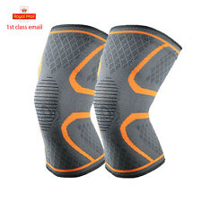 Copper Knee Support Brace Patella Arthritis Pain Relief Gym Compression Sleeve J