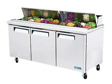 Turbo Air  MST-72 Sandwich Salad Prep Cooler 18 Pans 72""