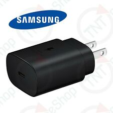 Original Samsung Galaxy S20 Note 10 25W USB-C Fast Charging Wall Charger - Black