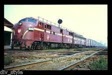Pennsylvania RR E7 #4244 passenger locomotive train railroad postcard