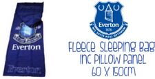 Everton Fleece Sleeping Bag With Pillow Panel 60x150cm Ideal Gift Brand New
