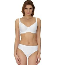 Full cup Underwire Bra & Brief (2 pc set) Jersey Pinstripe 12B Women's Intimates