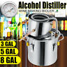 2/3/5/8 Gal Wine Alcohol Water Distiller Moonshine Still Boiler Stainless Copper
