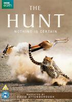 The Hunt DVD (2015) David Attenborough cert PG 3 discs ***NEW*** Amazing Value