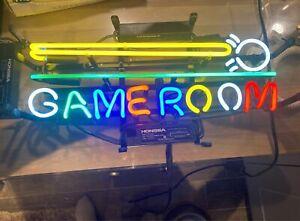 "19""x12""Game Room Billiards Snooker Neon Light Shop Open Advertising Sign Artwork"