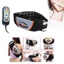 Bauch-weg-abnehm-massage-gürtel Rücken Po Beine Vibro Infrarot Thermal Slim Belt 100% Original Haushaltsgeräte Elektrische Massagegeräte
