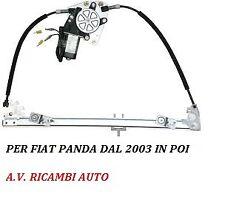 ALZAVETRI ALZACRISTALLI ANTERIORE SX  FIAT PANDA 2003 -2012 ELETTRICO C/MOTORINO