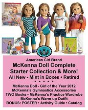 American Girl McKENNA DOLL & OUTFITS_GOTY STARTER COLLECTION + More! NEW in box