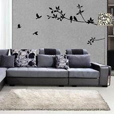 Black Bird Tree Branch Removable Pvc Vinyl Wall Sticker Art Home Decor Wall ART