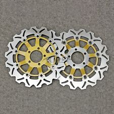 Floating Front Brake Disc Rotor For Kawasaki Ninja ZX6R 1998 1999 2000 2001 2002