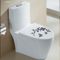 DIY Toilet Seat Wall Sticker Decals Vinyl Art Paper Removable Bathroom Decor New