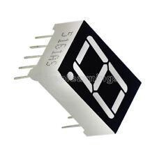 "10PCS 0.56"" 7 Segment Red LED Display 1 Digit Common Anode"