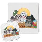 Havanese Kitchen Dish Towel and Pot Holder Gift Set