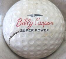 (1) Billy Casper Signature Logo Golf Ball (Cir 1962 #4 Super Power Wilson)