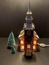 Department 56 New England Village Series 1988 Old North Church Retired