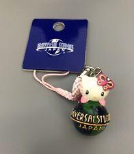 Hello Kitty Universal Studios Japan Globe Strap Charm Uk Anime Japan