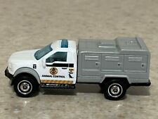 Matchbox White Ford F-150 Animal Control Truck - Loose