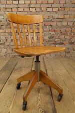 Vintage Bürostuhl Schreibtisch Architekten Stuhl Loft Fabrik Industrial STOLL