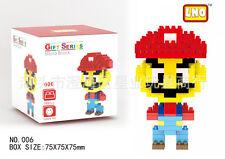 Super Mario Red LNO BLOCK Micro Mini Building Nano Block LOZ Iblock Toy Gift