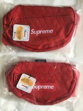 Supreme Fw18 Waist Bag - Red