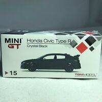 1/64 TSM MINI GT Honda Civic Type R Crystal Black FK8 RHD MGT00015R Available