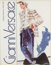 ANTONIO LOPEZ Gianni Versace LOOKBOOK fashion catalogue book 1984 Spring Summer
