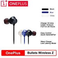 Original OnePlus Bullets Wireless Z In Ear Earphone  For Oneplus 8/8 Pro/7 Pro/7