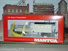 Mantua Old Time Santa Fe Maintenance of Way MoW *Clearance Car*Oop* Ho Train*New