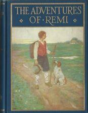 Hector Malot, Mead Schaeffer, ADVENTURES OF REMI (SANS FAMILLE), 1928, HC/DJ