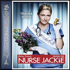 NURSE JACKIE - COMPLETE SEASON 5 ** BRAND NEW DVD***