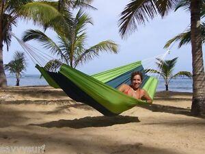 Silk Travel Hammock Adult Travel Bed Backpacker Hammock Camp Bed 3 COLOURS
