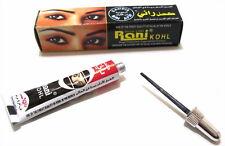 4x Rani Kohl Kajalstift schwarz flüssig Eyeliner arabische Kajal Khol *takschita