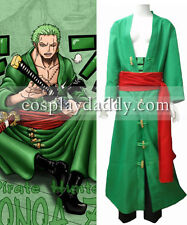 One Piece Roronoa Zoro Cosplay Costume Japanese Anime Outfit New version