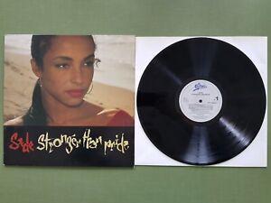 SADE Stronger Than Pride  LP Vinile 33 giri  Prima Stampa 1988
