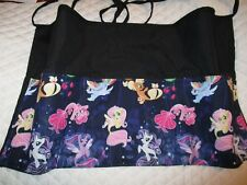 Waitress Apron Server Black 3 Pocket Mermaids W/Wo Name Lady Pizazz