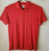 Lacoste polo large designed in france made in peru
