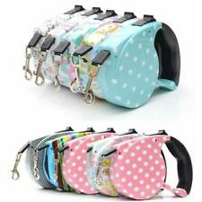 Automatic Retractable Walking Dog Leash Pet Collar 16 ft for Small Dog Outdoor