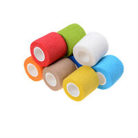 4.5CM Waterproof Elastic Self Adhesive Medical Bandage Gauze Tape Muscle CareCF*