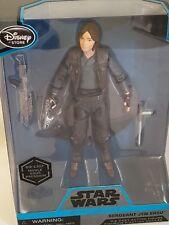 "Disney Store, Star Wars 6"" Elite Series Sergeant Jyn Erso Diecast Figure NEW!"