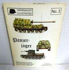 ALMARK BOOK Panzer=jager Wehrmacht Illustrated No 2 op 1972 Ed