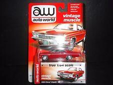 Auto World Chevrolet Impala SS 1966 Red 64042B