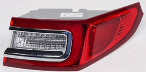 OEM Lincoln Continental Outer Right LED Tail Lamp GD9B-13404-AR - One Lens Chip