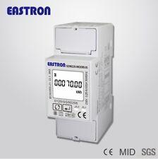 SDM220 Modbus,0,25~5(100A) 220V/230V 50Hz/60Hz Monofásico Medidor Consumo KWH